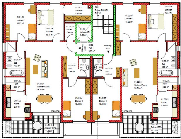 immobile detailansicht fix service gmbh. Black Bedroom Furniture Sets. Home Design Ideas